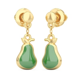 The Juicy Pear Earrings For Kids