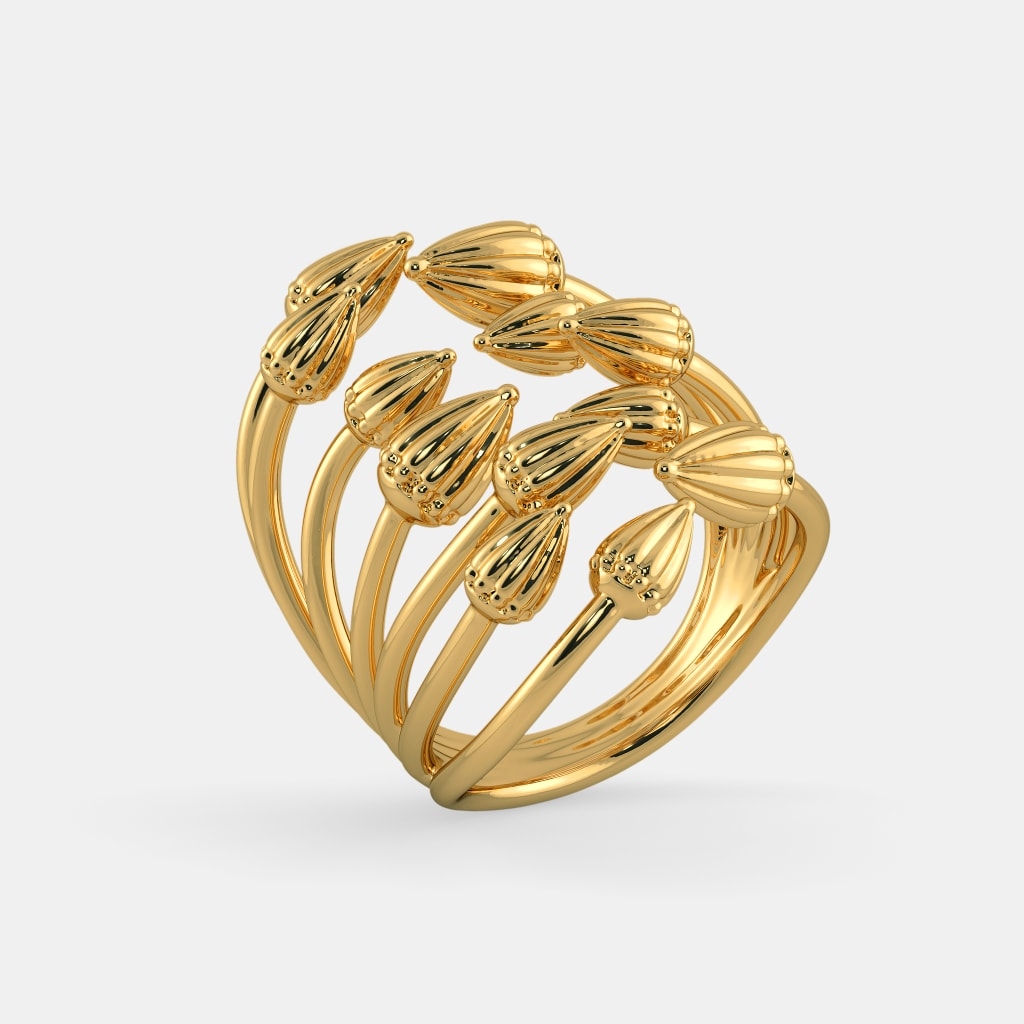 jewelry jewellery stl high ring woman end print lobortas models rings gold model