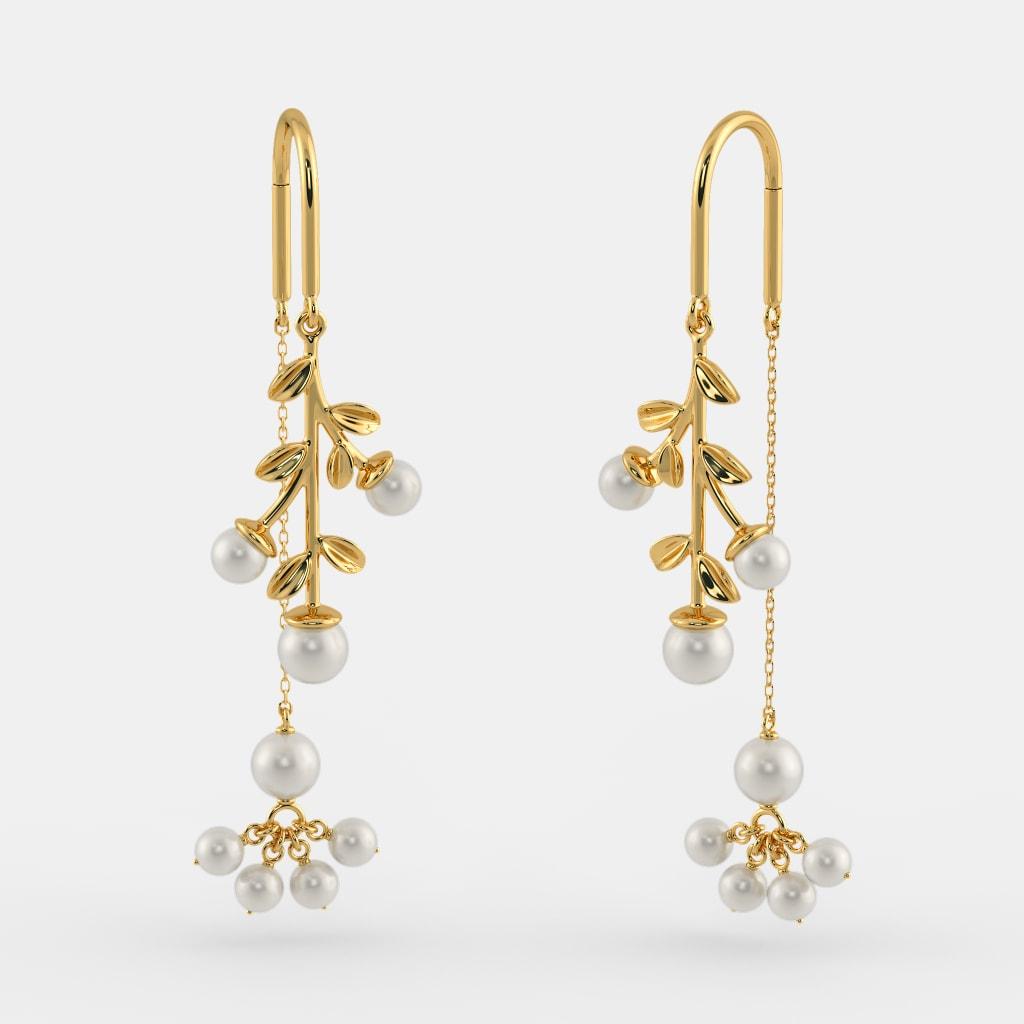 The Indu Sui Dhaga Earrings | BlueStone.com
