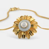The Hema Floral Pendant