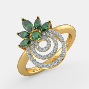 The Blooming Circles Ring