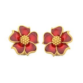 The Fiery Passion Stud Earrings