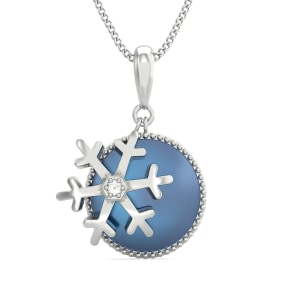 The Elsa Crystal Pendant for Kids