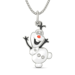 The Fun Olaf Pendant for Kids