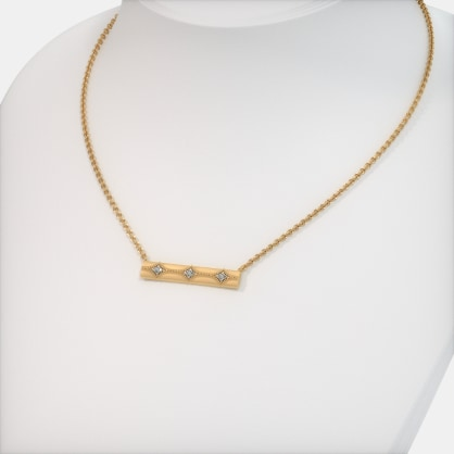 The Rosalyn Bar Necklace