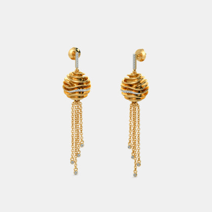 The Enthralling Glam Drop Earrings