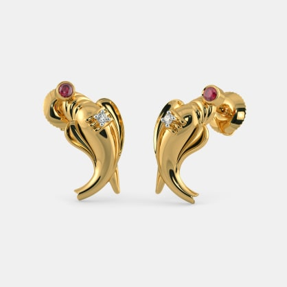 The Anavil Stud Earrings