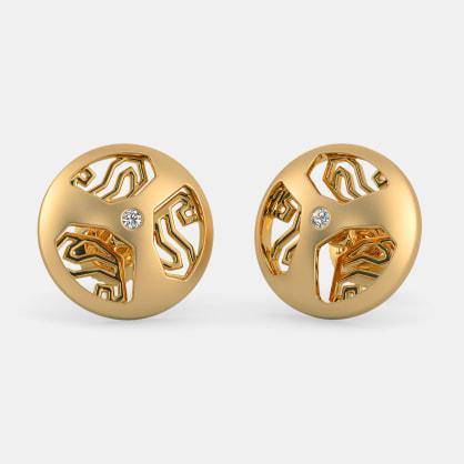 The Mangai Dome Stud Earrings
