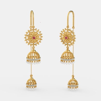The Flare Folklore Sui Dhaga Earrings