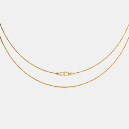 The Aadriti Gold Chain