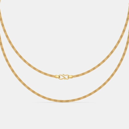 The Advika Gold Chain