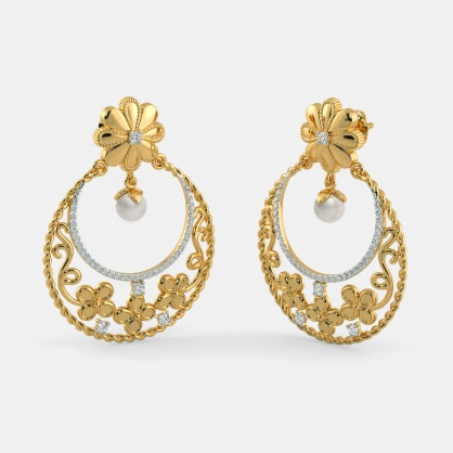 The Meherbaan Chand Bali Earrings