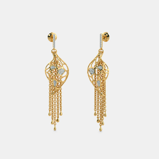 The Enrapturing Glam Drop Earrings