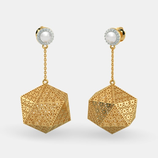 The Intriguing Glam Drop Earrings
