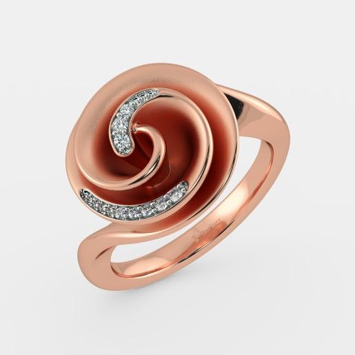 Rose Gold Rings Buy 100 Rose Gold Ring Designs Online