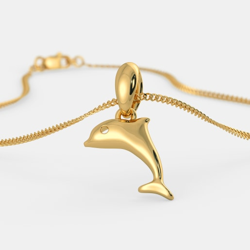 The Favourite Dolphin Pendant For Kids
