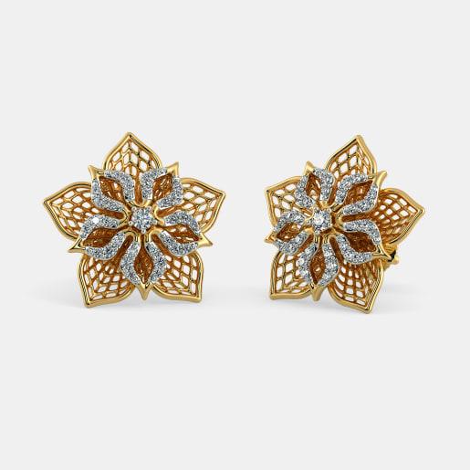 The Fleur Lattice Earrings