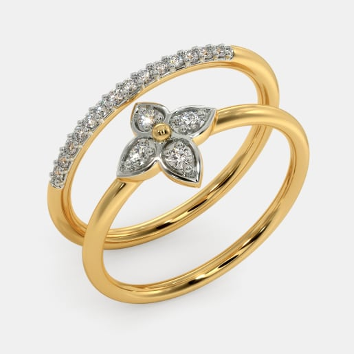 The Alishba Stackable Ring