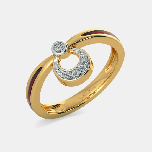 The Hint of Blush Ring