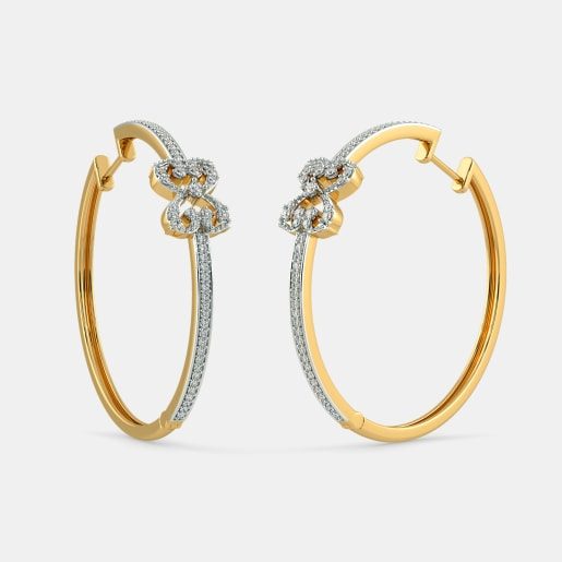 The B Iconic Supercilious Hoop Earrings