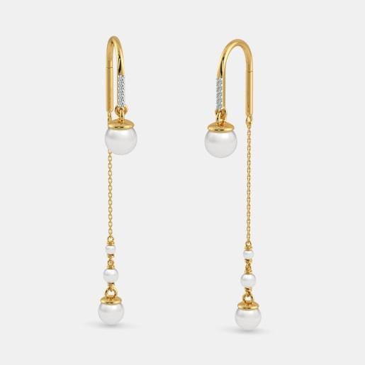 The Sheer Arc Sui Dhaga Earrings