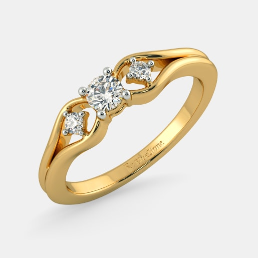 The Aurora Flourish Ring