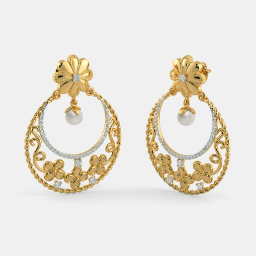 The Meherbaan Chand Bali Earrings