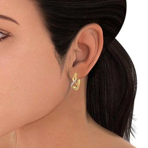 The Chrisanta Hoop Earrings