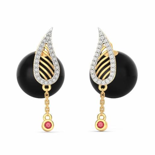 The Raaziya Onyx Earrings