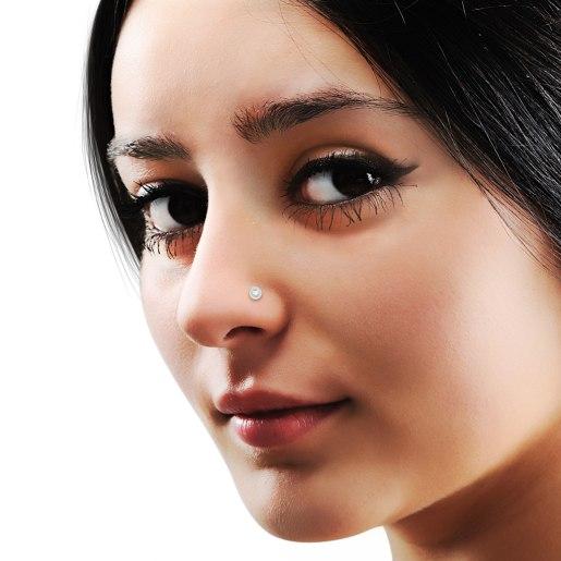 The Calla Nose Pin