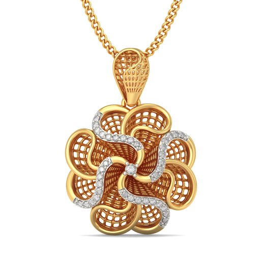 The Rose Lattice Pendant