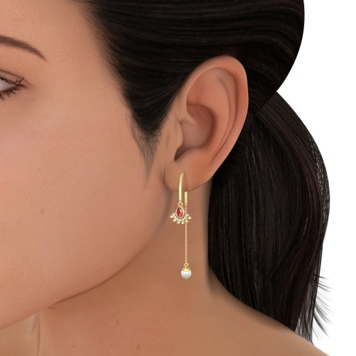 The Aureate Halo Earrings