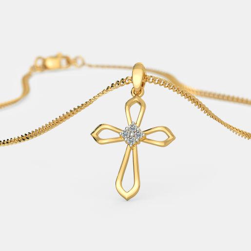The Angea Cross Pendant