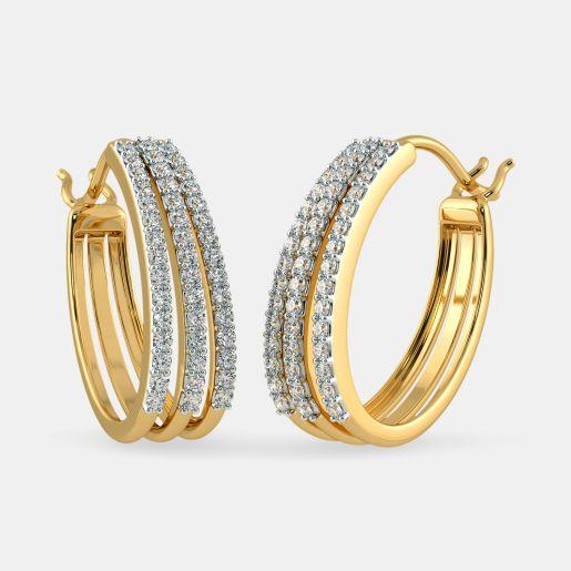 The Caylie Hoop Earrings