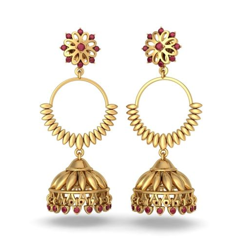 The Madhavi Detachable Jhumka